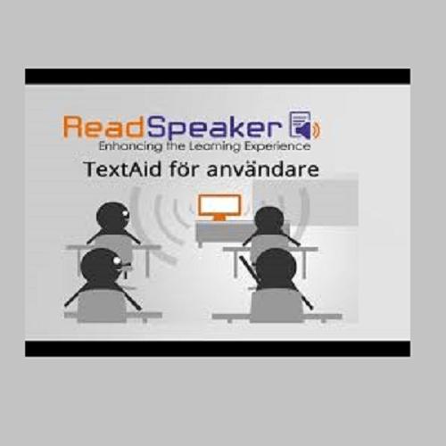 TextAid Webbaserad talsyntes för skolenhet