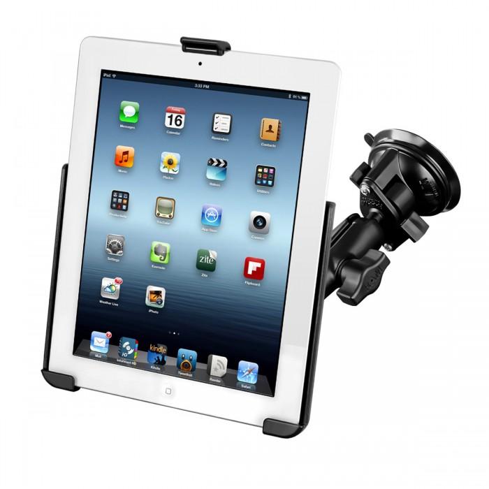 iPadhållare med sugkoppsfäste