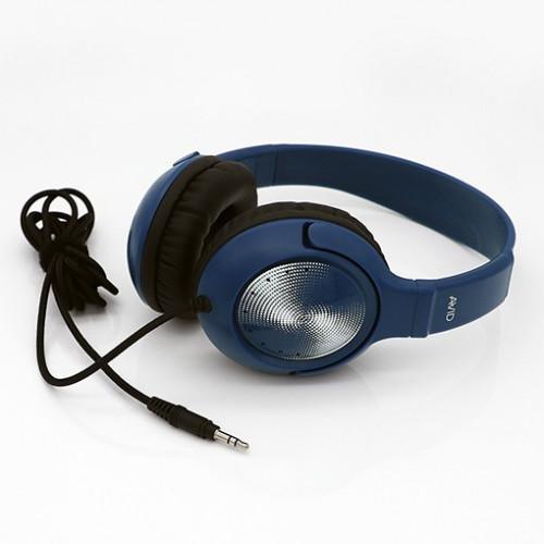 Avid hörlurar blå