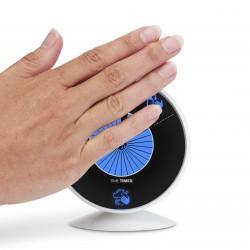 hand vinkar framför time timer wash